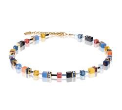 2838 Multicolor Motion - Necklace Cœur de Lion