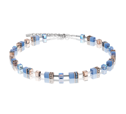 4016 Light Blue - Necklace Cœur de Lion