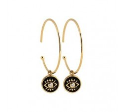 copy of Protective Eye - Gold-Plated Earrings