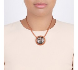Amherst - Round Necklace - Nature Bijoux-alt