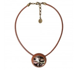 Amherst - Round Necklace - Nature Bijoux