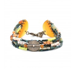 Kumasi - Stretch Bracelet - Nature Bijoux