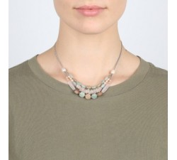 Manyara - 3-Row Necklace - Nature Bijoux-alt