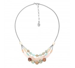 Manyara - 3-Row Necklace - Nature Bijoux