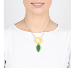 Citrus - Necklace - Nature Bijoux-alt