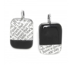I Have A Dream - Earrings Black - Nature Bijoux