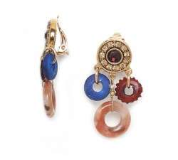 Bella - Earrings - Clip - Franck Herval