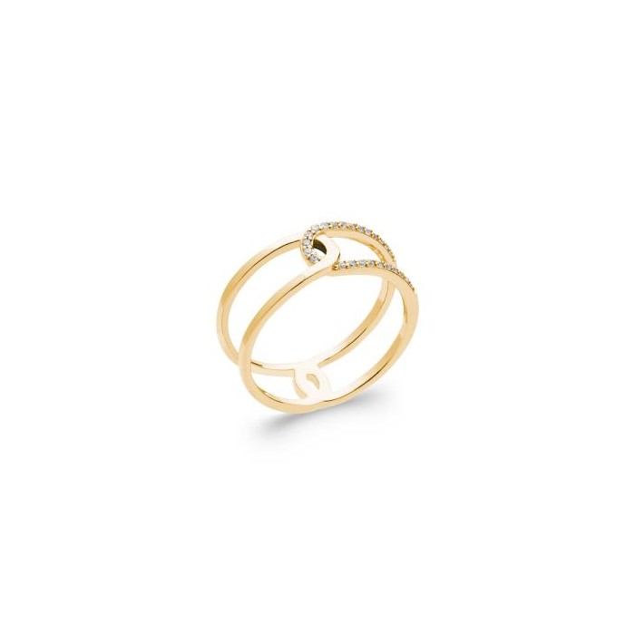 Link - Gold-Plated Ring