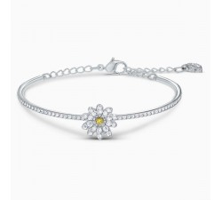Eternal Flower - Yellow Silver - Bracelet - Swarovski