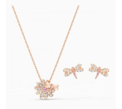 Eternal Flower - Dragonfly - Rose-Gold - Set -...
