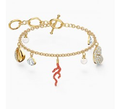 Shell - Red Gold - Bracelet - Swarovski