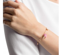 No Regrets - Ice Cream Pink - Bracelet - Swarovski-alt