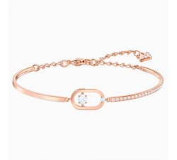 Sparkling Dance - White Rose-Gold - Bracelet -...