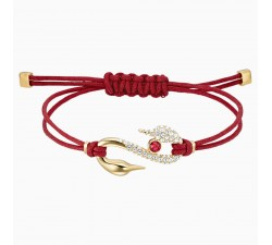 Power Hook - Red - Bracelet - Swarovski
