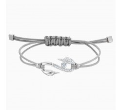 Power Hook - Light Grey - Bracelet - Swarovski