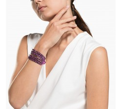 Power - Purple - Bracelet - Swarovski-alt