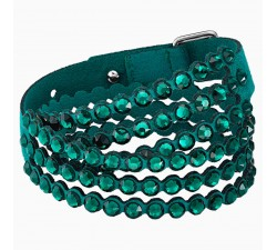 Power - Green - Bracelet - Swarovski