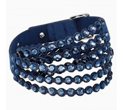 Power - Blue - Bracelet - Swarovski