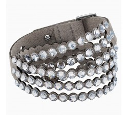 Power - Grey - Bracelet - Swarovski