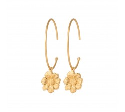 Flora - Earrings - Hoops - Ana & Cha