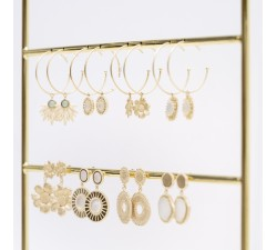 Flora - Earrings - Hoops - Ana & Cha-alt