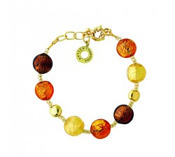 Frida - Amber - Bracelet - Antica Murrina