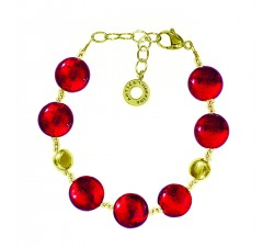 Frida - Red Gold - Bracelet - Antica Murrina