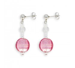 Frida - Pink - Earrings - Antica Murrina