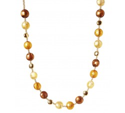 Frida - Amber - Necklace - Antica Murrina