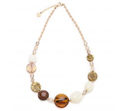 Isabel - Amber - Necklace - Antica Murrina