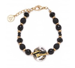 Isabel - Black - Bracelet - Antica Murrina