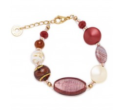 Gisele - Red - Bracelet Premium - Antica Murrina