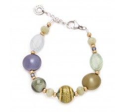 Gisele - Green - Bracelet - Antica Murrina