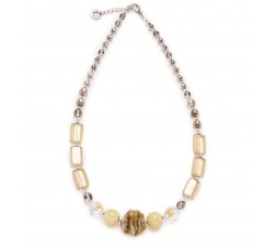 Megan - Ivory - Necklace - Antica Murrina