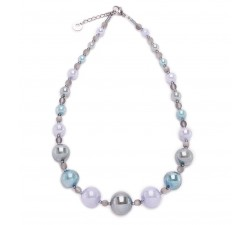 Joy - Light Blue - Necklace - Antica Murrina
