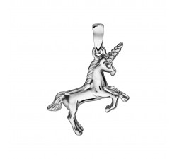 Unicorn - Sterling Silver - Pendant