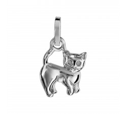 Cat - Sterling Silver - Pendant