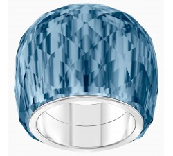 Nirvana - Blue Silver - Ring - Swarovski