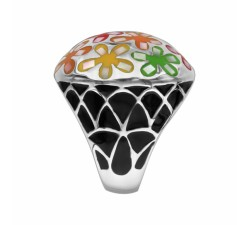 Flowers - Domed - Ring - Stella Mia-alt