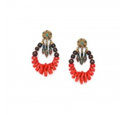 Pigments - Gipsy - Earrings - Nature Bijoux
