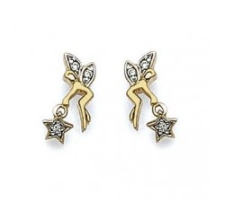 Fairy - Gold-Plated Earrings