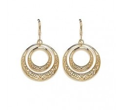Circles - Gold-Plated Earrings