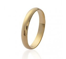 Wedding Medium - Gold-Plated Ring