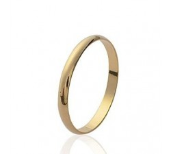 Wedding Thin - Gold-Plated Ring