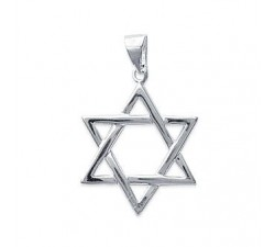 Star of David - Silver Pendant