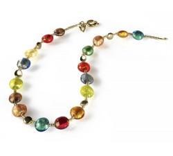 Frida - Multicolored - Necklace - Antica Murrina