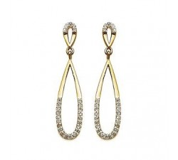 Drop - Gold-Plated Earrings