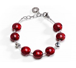 Frida - Red - Bracelet - Antica Murrina