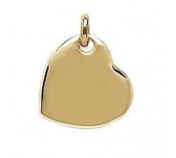 Heart - Gold-Plated Pendant