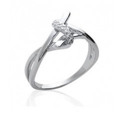 Intertwined - Silver Ring